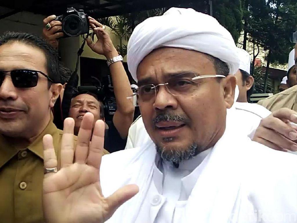 Bang Japar Tangkap Pria Diduga Hina Habib Rizieq, Dibawa ke Polres