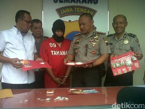 Polisi Tangkap Pengedar Sabu dan Ekstasi di Semarang