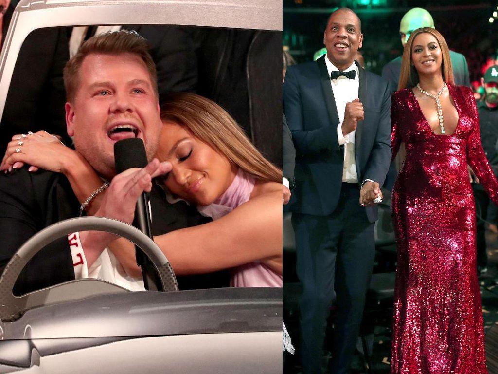 Foto-foto Grammy 2017 yang Tak Anda Lihat di Televisi
