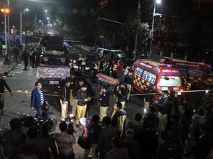 Bom Meledak di Lahore, 10 Orang Tewas dan Puluhan Lainnya Terluka