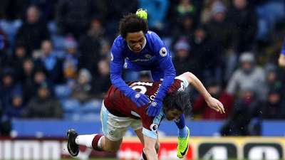 Chelsea Diimbangi Burnley 1-1