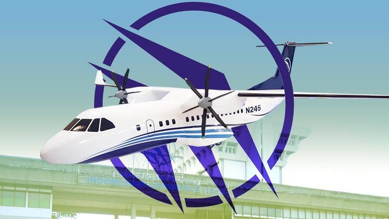 Ini Spesifikasi Pesawat N245 Made in Bandung