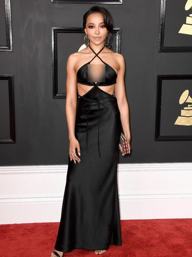 LOS ANGELES, CA - FEBRUARY 12:  Singer-songwriter Tinashe attends The 59th GRAMMY Awards at STAPLES Center on February 12, 2017 in Los Angeles, California.  (Photo by Frazer Harrison/Getty Images)