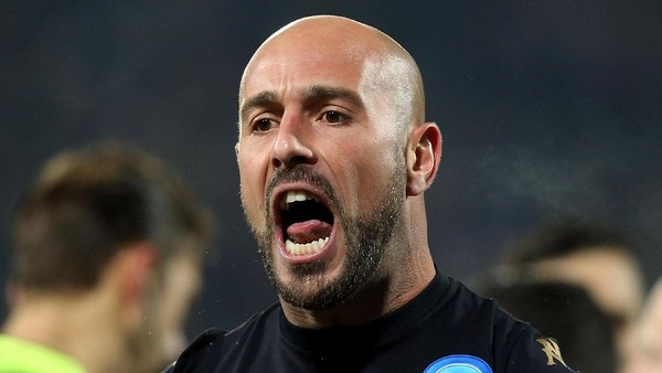 Reina: Napoli Bisa Kalahkan Tim Manapun