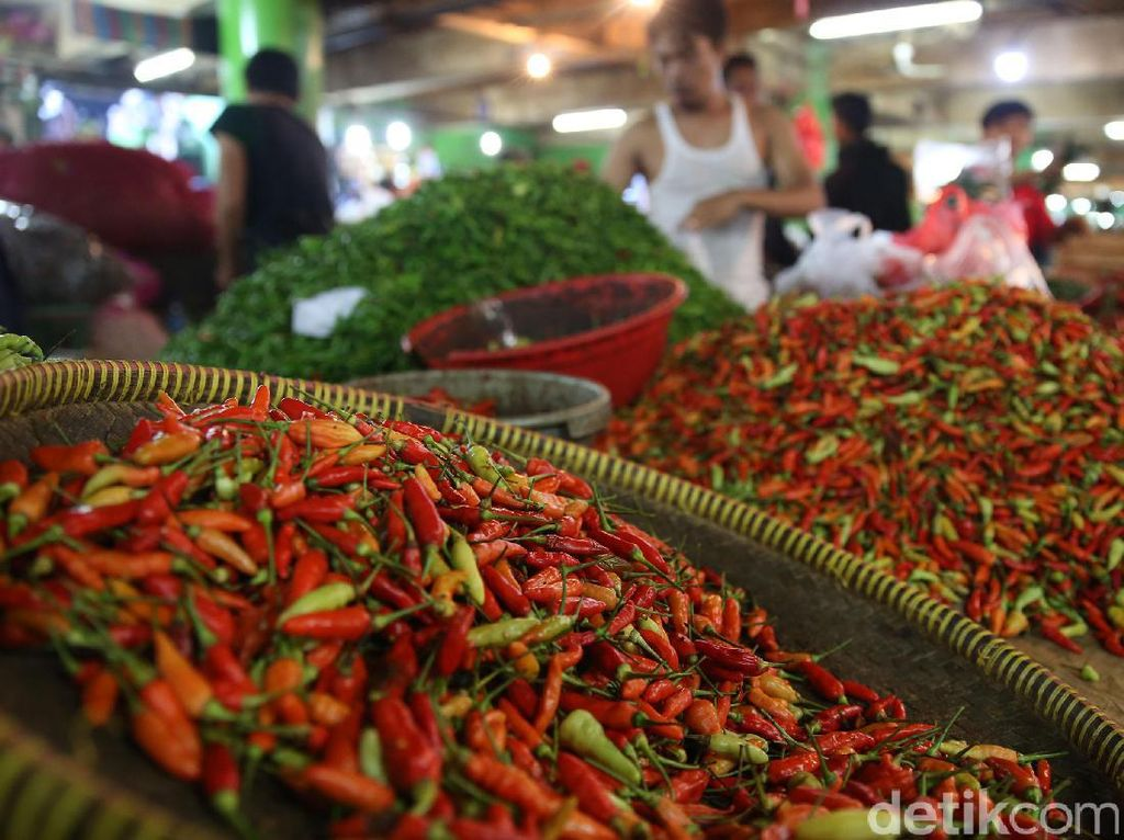 Harga Cabai hingga Tomat Naik Jelang Tahun Baru 2020