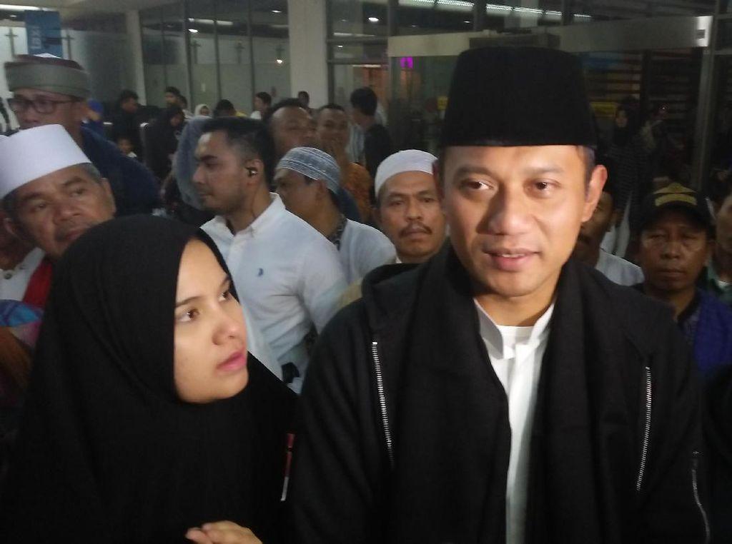 Pulang Umrah, Agus Yudhoyono Ungkap Isi Doanya