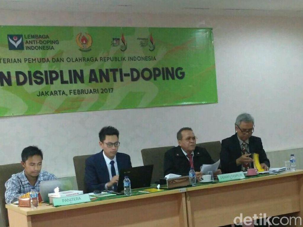 Keputusan Dewan Disiplin Antidoping Masih Belum Mutlak