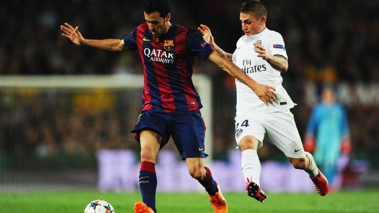 Duel di Lini Tengah Akan Tentukan Pemenang PSG vs Barcelona