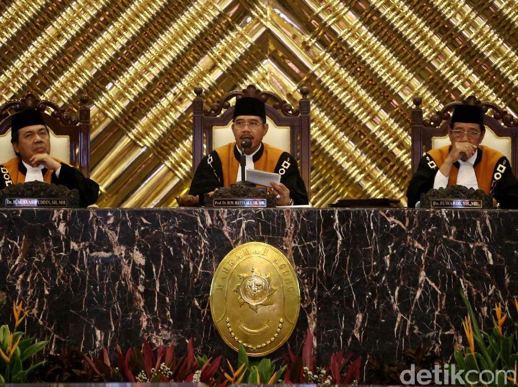 Hakim Agung Hatta Ali Kembali Terpilih Menjadi Ketua MA