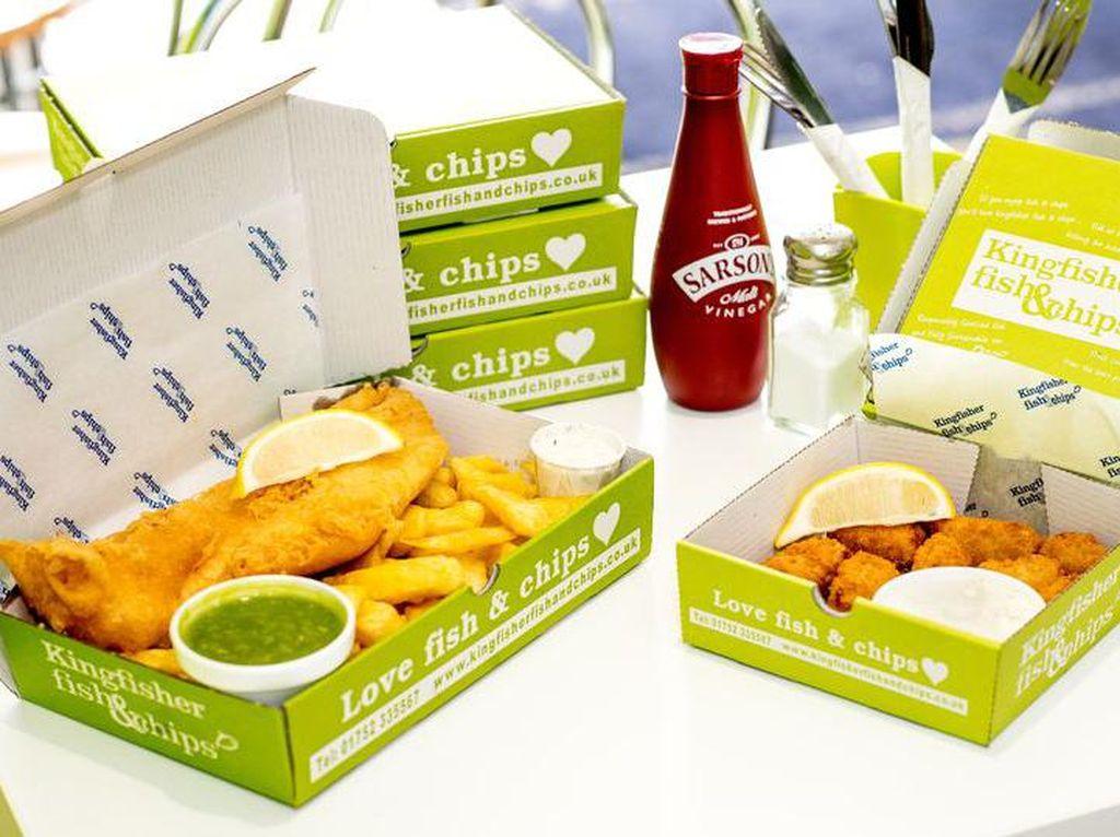 Gerai Kingfisher Fish and Chips Diprediksi Segera Dapat Bintang Michelin