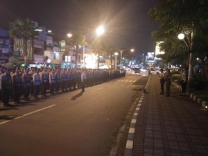 Antisipasi Serangan Fajar, Polri/TNI Malam ini Blusukan Desa-desa