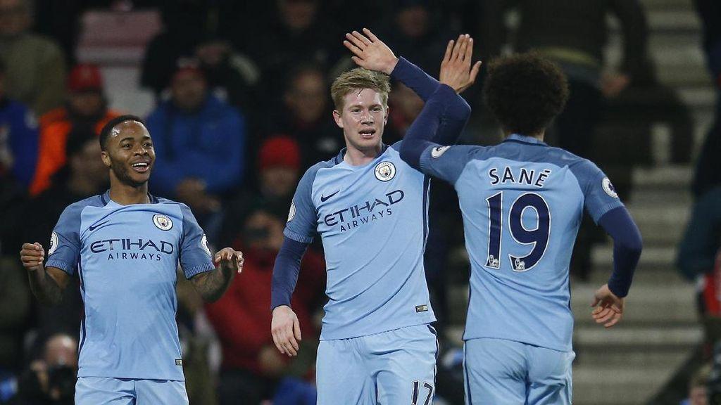 City Butuh Waktu untuk Samai Sejarah Besar MU dan Liverpool di Liga Champions