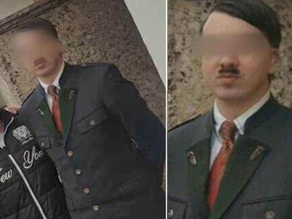Berdandan Mirip Hitler di Depan Publik, Pria Austria Ditangkap