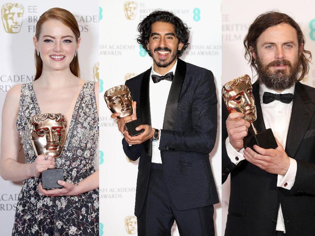 Wajah Happy Para Pemenang BAFTA 2017