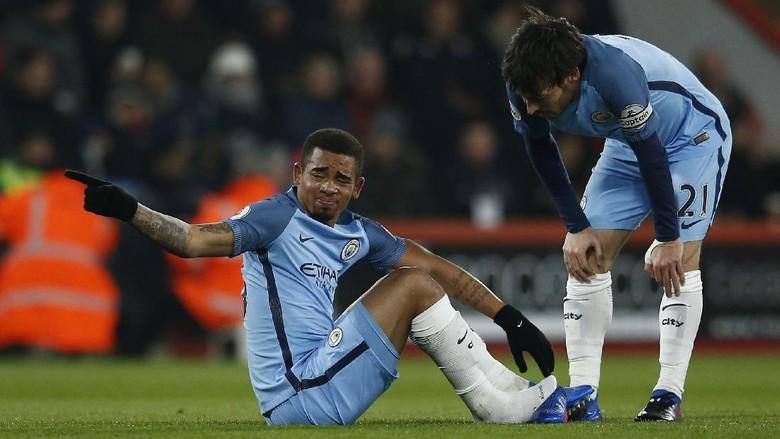 Guardiola Tak Yakin Gabriel Jesus Akan Main Lagi Musim Ini