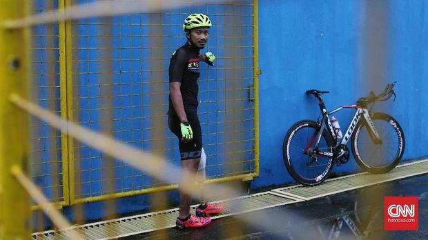 Muhammad Fadli selalu percaya diri dan bersikap optimistis saat mulai menekuni karier di para cycling.