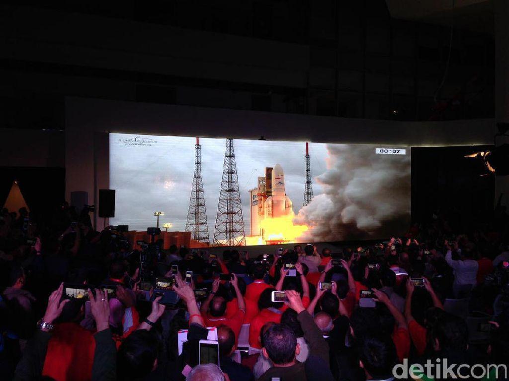 Ini Perisai Perlindungan Satelit Merah Putih