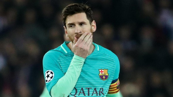 Messi Mati Kutu di Paris