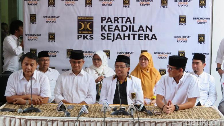 Presiden PKS: Hasil Exit Poll Kami, Anies-Sandi Unggul
