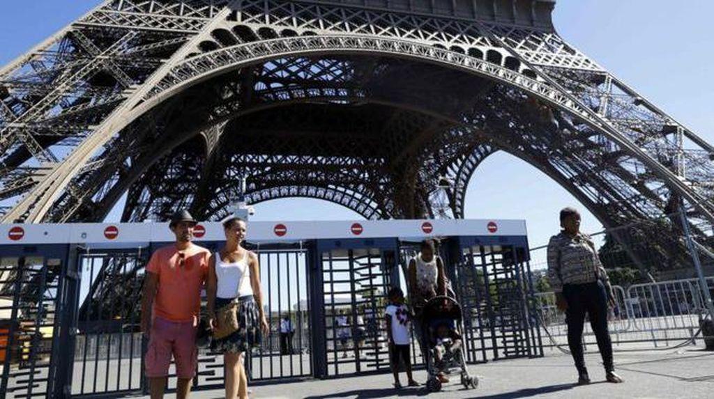 Demi Keamanan, Menara Eiffel Bakal Dibungkus Kaca Anti Peluru