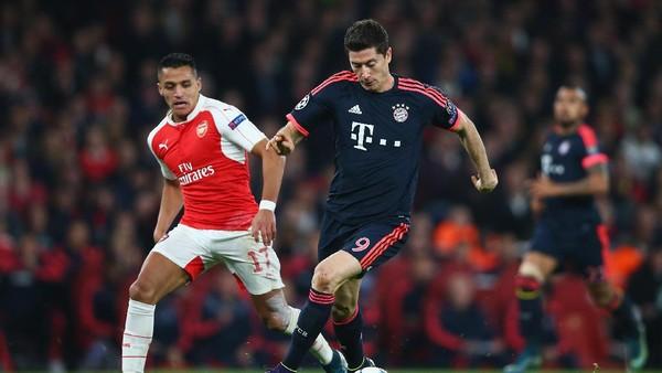Ini Prediksi Bayern vs Arsenal