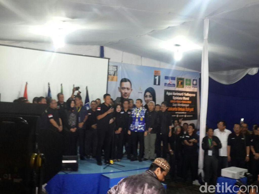 Agus Yudhoyono: Selamat untuk Ahok-Djarot dan Anies-Sandi