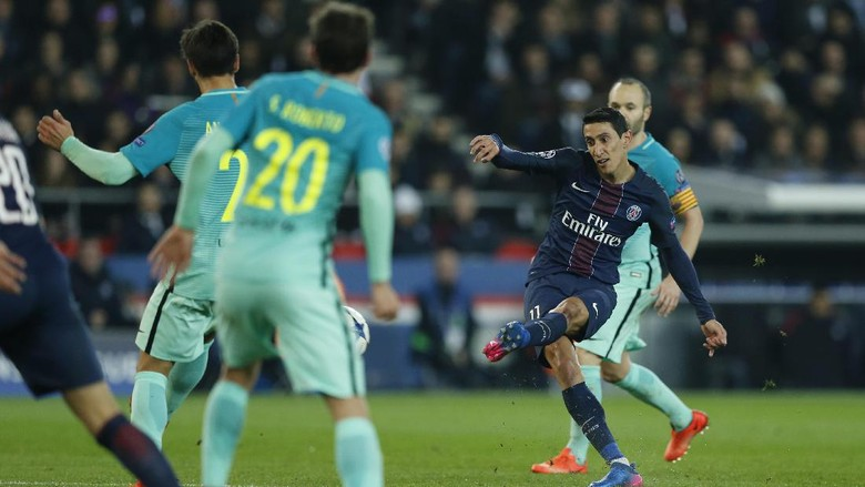 PSG Hajar Barcelona 4-0