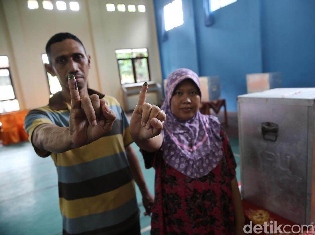 Warga Pulau Pramuka Memilih Gubernur DKI