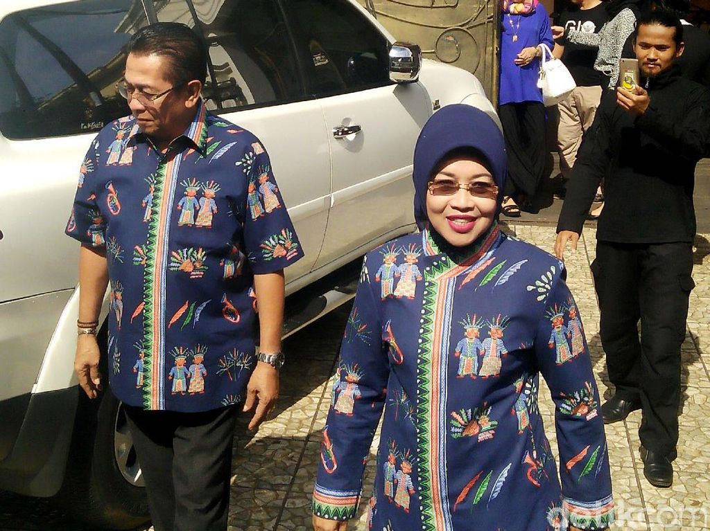 Dari Rumah, Sylviana Langsung ke Posko Pemenangan di Proklamasi