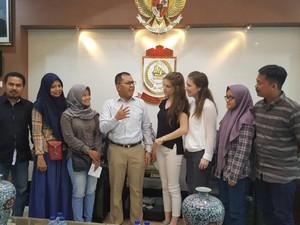 Duta PBB Temui Wali Kota Makassar, Bahas Pelayanan Kesehatan