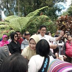 Wali Kota Eddy Rumpoko Optimis Istrinya Lanjutkan Pimpin Batu