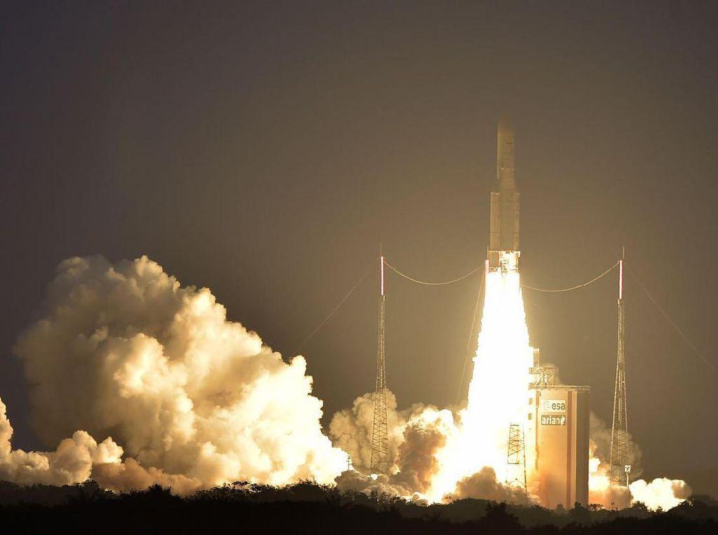 Satelit Nusantara Dua Dikabarkan Gagal Capai Orbit