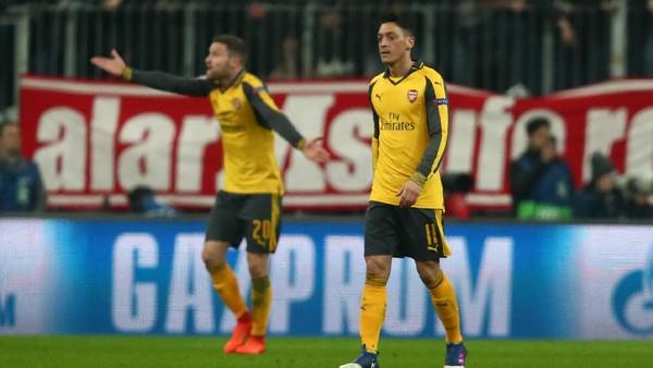 Wenger Bantah Ada Keributan di Ruang Ganti Arsenal Usai Tumbang di Munich