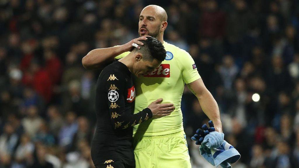 Reina: Napoli Bisa Menang 2-0 atas Madrid di San Paolo
