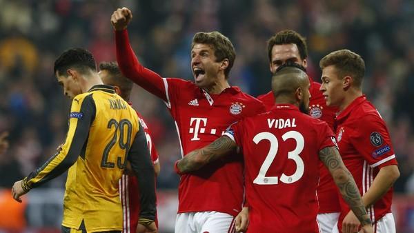 Bayern Memang Berniat Menghabisi Arsenal