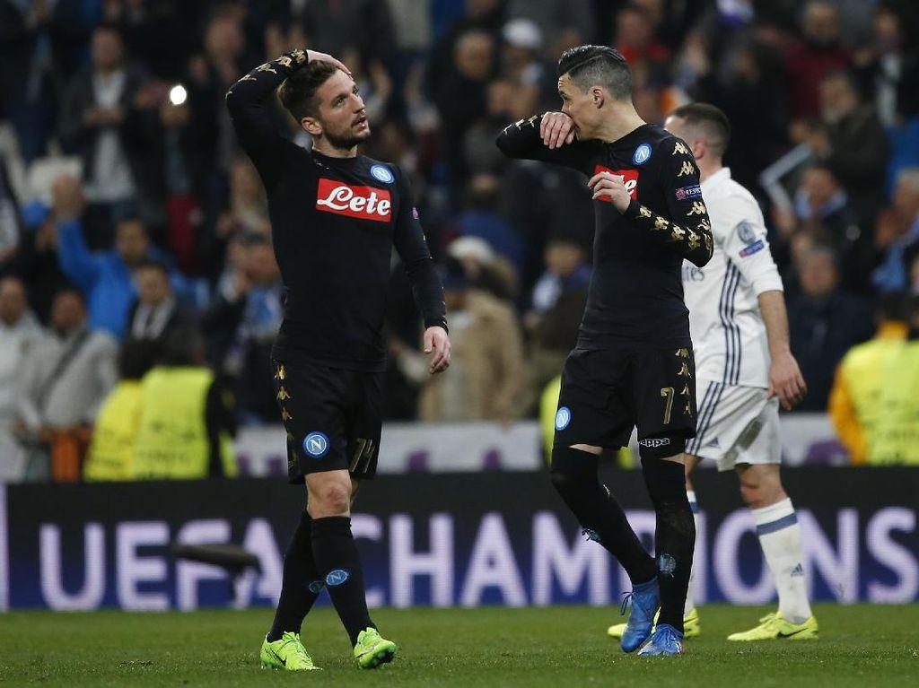 Napoli Disebut Perlu Menekan Lebih Gencar untuk Bisa Kalahkan Madrid