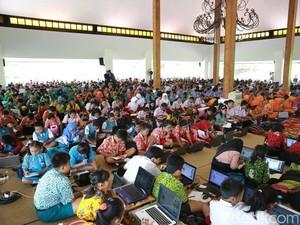 1.200 SIswa SD di Banyuwangi Ikuti Olimpiade MIPA Berbasis IT