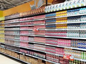 Promo Susu Kemasan Kotak di Transmart dan Carrefour