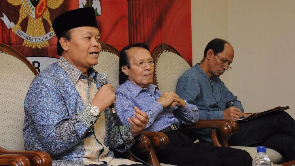Wakil Ketua MPR Hidayat Nur Wahid dalam diskusi 4 Pilar