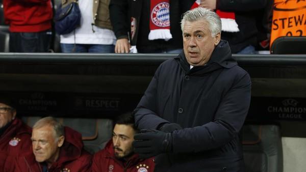 Bayern Unggul, Ancelotti Tak Mau Ada Kesalahan