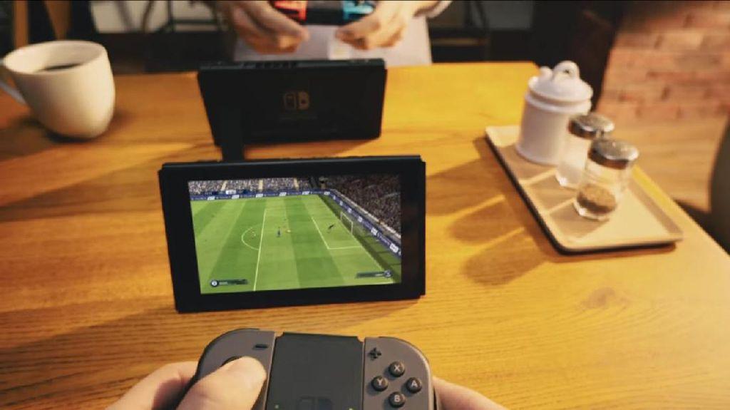 Begini Tampilan FIFA 18 di Nintendo Switch