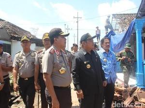 Korban Puting Beliung Dapat Perhatian Bupati Sidoarjo dan Kapolda Jatim