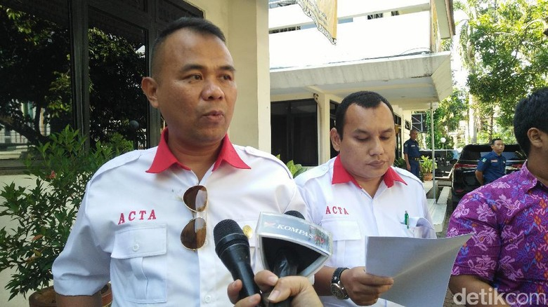 ACTA Laporkan Ahok ke Bawaslu DKI soal Pidato di Balai Kota