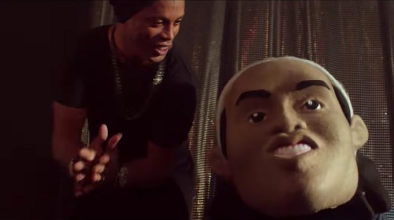 Aksi Rap Ronaldinho