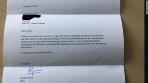 Rahasia di Balik Balasan Surat Bos Google untuk Bocah 7 Tahun
