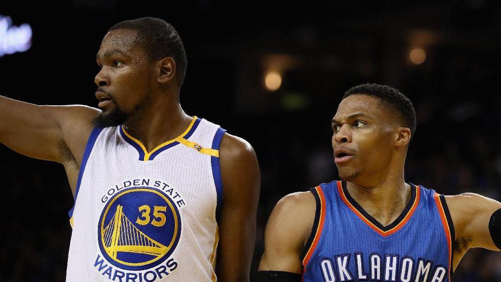 Menantikan Durant dan Westbrook Berduet Lagi