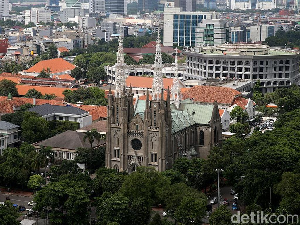 Idul Adha, Gereja Katedral Jakarta Geser Jadwal Misa Minggu Pagi