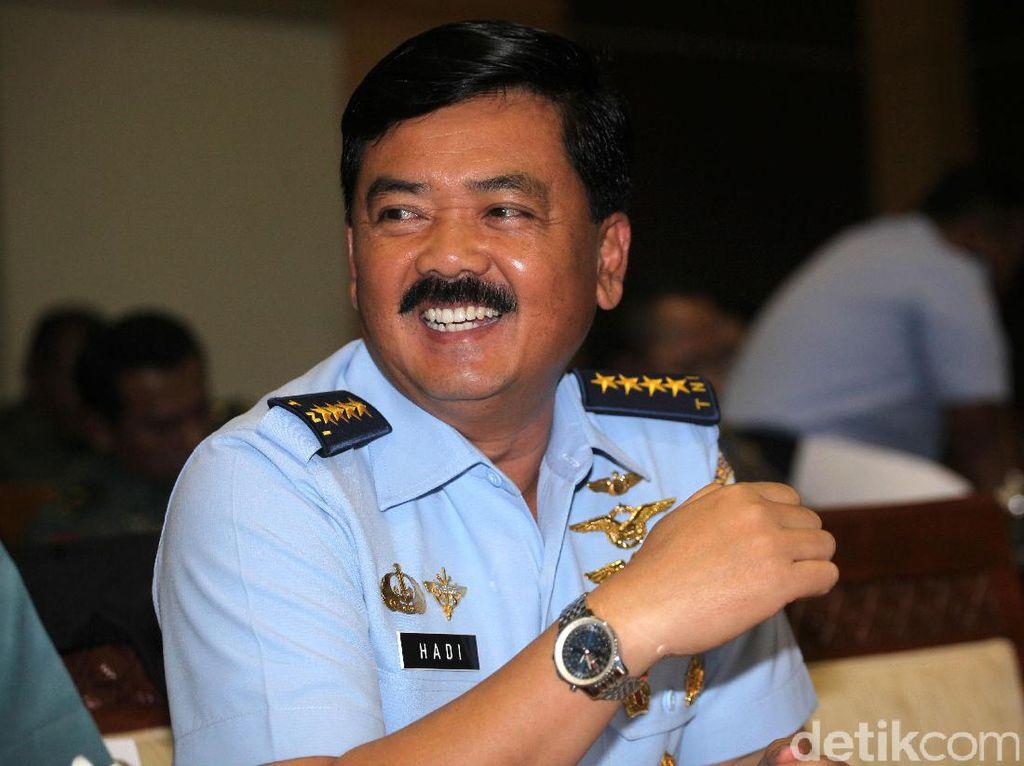 Ini Marsekal Hadi, Calon Panglima TNI yang Sigap Baca Kode Jokowi