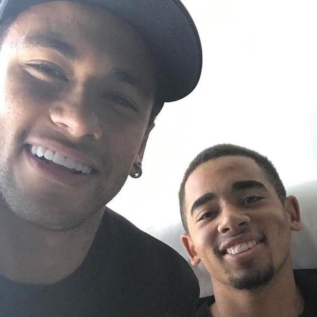 Neymar: Gabriel Jesus Bisa Jadi Pembeda di Tim Manapun