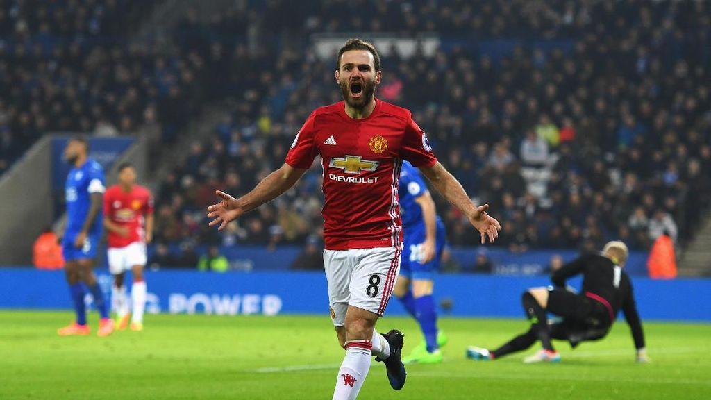 Juan Mata Bertekad Lanjutkan Torehan Dobel Digit Gol
